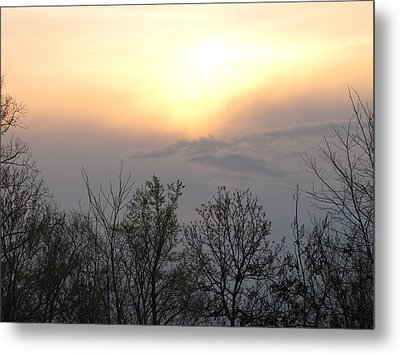 Soft Sunset Metal Print by Shane Brumfield