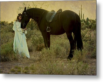 Solace Metal Print by Jean Hildebrant