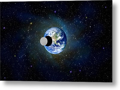 Solar Eclipse Metal Print by Bruce Iorio