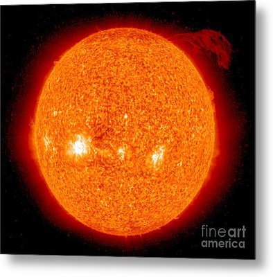 Solar Prominence Metal Print by Nasa