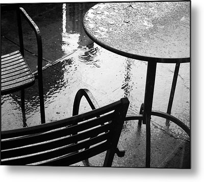 Sometimes It Rains Metal Print by Anne McDonald