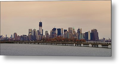 Somewhere In New York City Metal Print by Bill Cannon