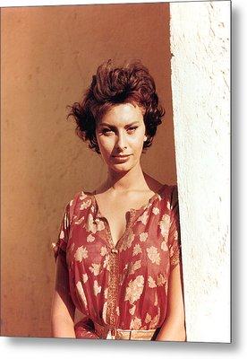 Sophia Loren, Legend Of The Lost, 1957 Metal Print by Everett