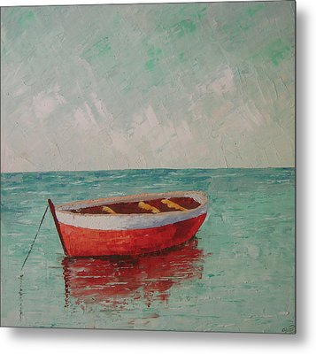 South Of France Saint Tropez Metal Print by Frederic Payet