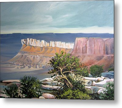Southern Utah Butte Metal Print by Matthew Chatterley