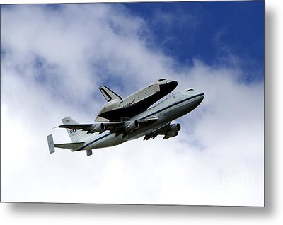 Space Shuttle Enterprise Metal Print by Thanh Tran