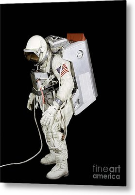 Spacesuit Used By Gemini Viii Metal Print by Stocktrek Images