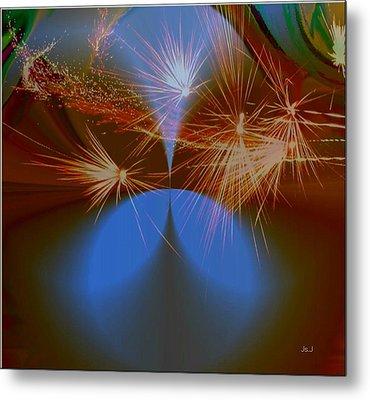 Sparkled Metal Print by Jan Steadman-Jackson
