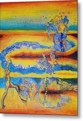 Spectrum Of The Goon Metal Print by Ben Christianson
