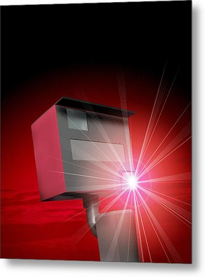 Speed Camera Metal Print by Victor Habbick Visions