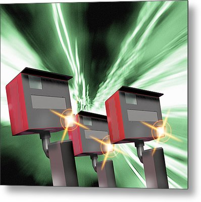 Speed Cameras Metal Print by Victor Habbick Visions