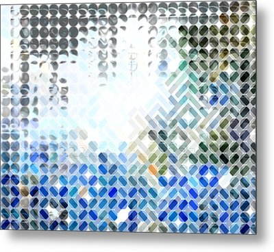 Spheremaze Metal Print by Mark Einhorn