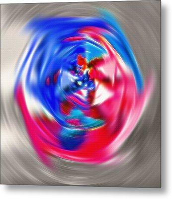 Spinning Pinwheel - Americana Metal Print by Steve Ohlsen