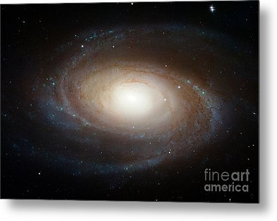Spiral Galaxy M81 Metal Print by Nasa