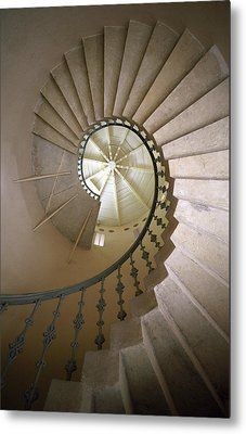 Spiral Stairs - Krakow Metal Print by Martin Cameron
