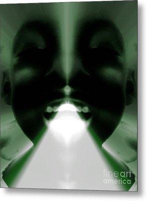 Spiritual Authority - Gift From God Metal Print by Fania Simon