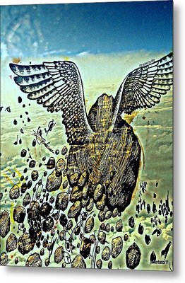 Spiritual Imperfection Of Human Beings Metal Print by Paulo Zerbato