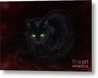 Spooky Metal Print by The Stone Age