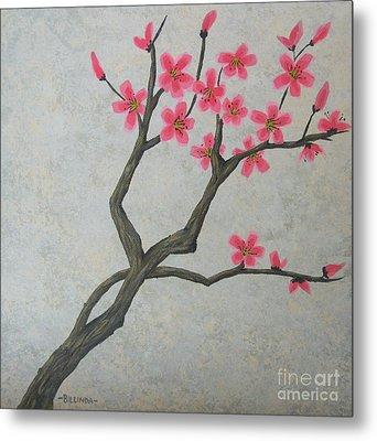 Spring Blossoms Metal Print by Billinda Brandli DeVillez