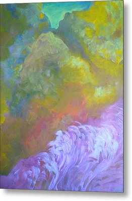 Springscape Metal Print by George  Page