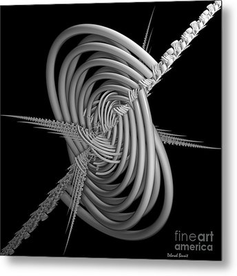 Sput 2 Metal Print by Deborah Benoit