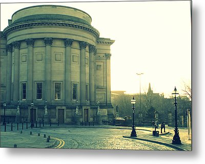 St Georges Hall Liverpool Metal Print by Georgia Fowler