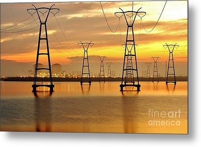 St. Lucie Nuclear Power Plant Metal Print by Don Youngclaus