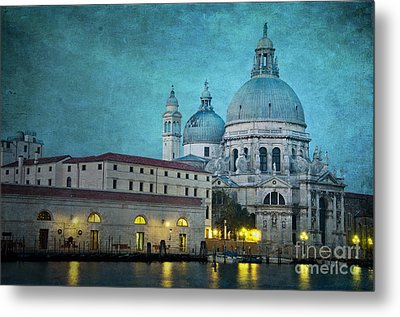 St Maria Della Salute From St Mark's  Metal Print by Marion Galt