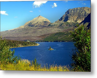 St. Mary's Lake 1 Metal Print by Marty Koch