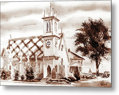 St. Pauls Episcopal Church IIi Metal Print by Kip DeVore