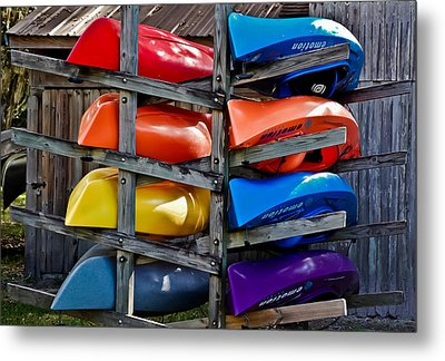 Stacked Emotions Metal Print by DigiArt Diaries by Vicky B Fuller
