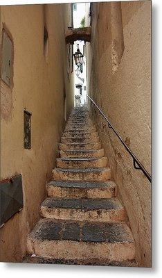 Stairs Italian Metal Print by Ryszard Unton