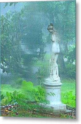 Standing In The Rain Metal Print by Mindy Newman