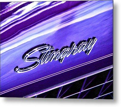 Stingray Metal Print by Bill Robinson