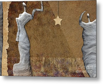 Stone Men 30-33 - Les Femmes Metal Print by Variance Collections