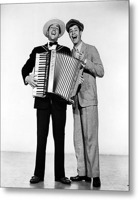 Stooge, Dean Martin, Jerry Lewis, 1952 Metal Print by Everett