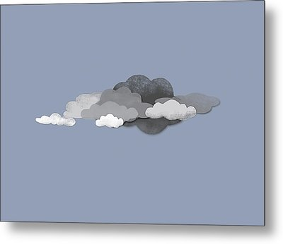 Storm Clouds Metal Print by Jutta Kuss