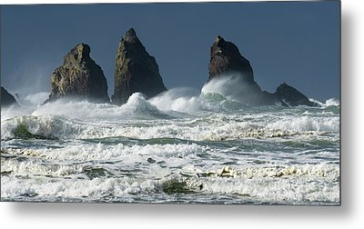 Storm Warning Metal Print by Bob Christopher