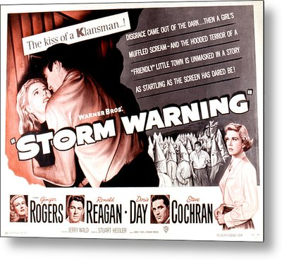 Storm Warning, Ginger Rogers, Steve Metal Print by Everett