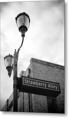Strawberry Alley Metal Print by Paul Bartoszek