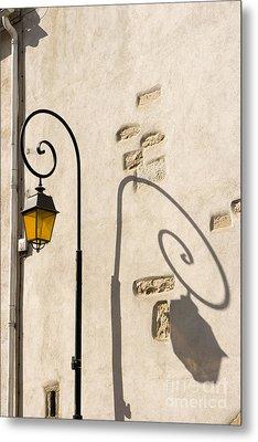 Street Lamp And Shadow Metal Print by Igor Kislev
