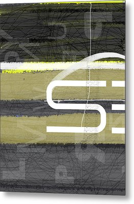 Stripes Metal Print by Naxart Studio