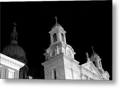 Structures Of Christendom Metal Print by Deborah  Crew-Johnson