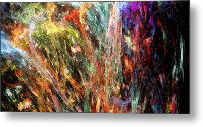 Substancial-a Metal Print by RochVanh