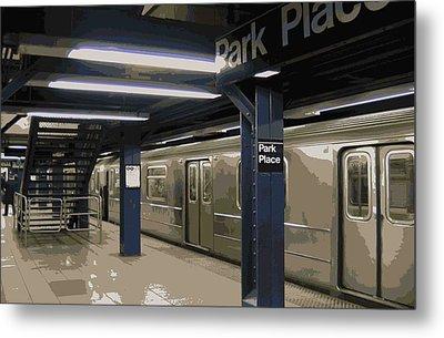 Subway Color 16 Metal Print by Scott Kelley