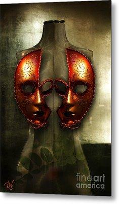 Suckling The Silence  Viriditas Metal Print by Rosa Cobos