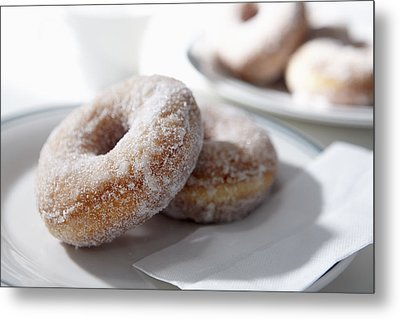 Sugar Coated Donuts Metal Print by Bruce Law