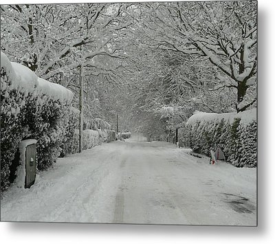 Sugar Road Metal Print by Rdr Creative