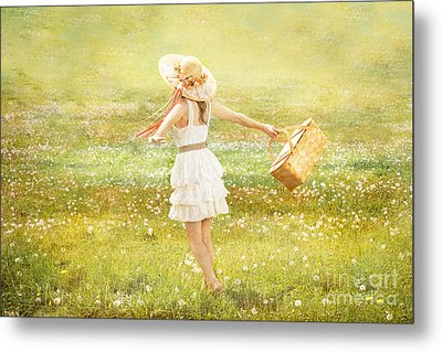 Summer Picnic  Metal Print by Cindy Singleton