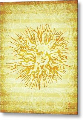 sun Metal Print by Adrienne Stiles